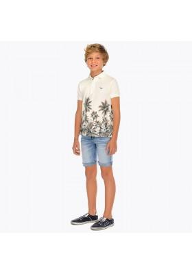 Pantalón corto tejana 5b Mayoral niño