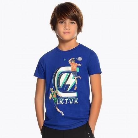Camiseta manga corta logo Mayoral niño