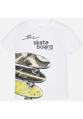 "Camiseta manga corta ""skateboard"" Mayoral niño"