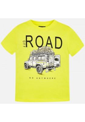 "Camiseta manga corta ""road"" Mayoral niño"
