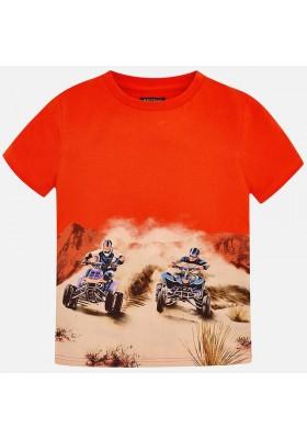 "Camiseta manga corta ""quad"" Mayoral niño"