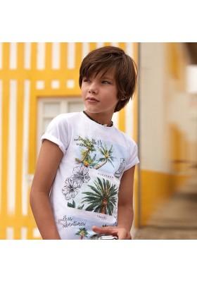 Camiseta manga corta palmeras Mayoral niño