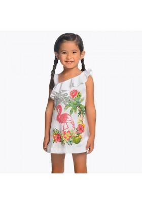 Vestido flamenco lentejuelas  Mayoral niña