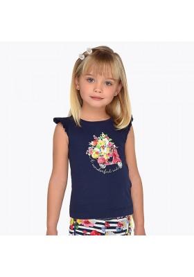 Camiseta tirantes grafica Mayoral niña