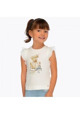Camiseta manga corta perfume Mayoral niña