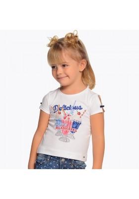 Camiseta manga corta batidos Mayoral niña