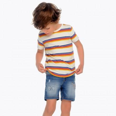 "Pantalón corto denim ""earth friendly Mayoral niño"