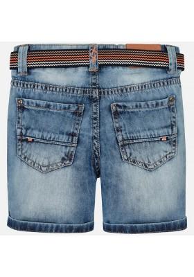 Pantalón corto tejana chino cinturon Mayoral niño