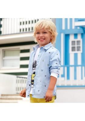 Camisa m/l estampada Mayoral niño
