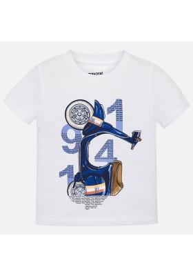 Camiseta manga corta serigrafia Mayoral niño