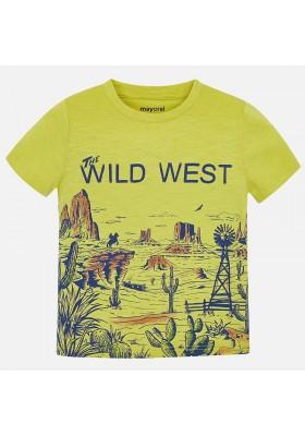 "Camiseta manga corta ""west"" Mayoral niño"