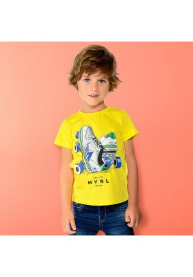 "Camiseta manga corta ""roller"" Mayoral niño"