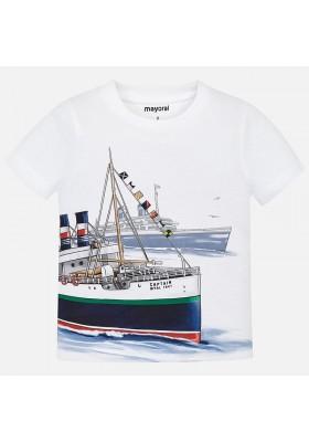 "Camiseta manga corta ""captain"" Mayoral niño"