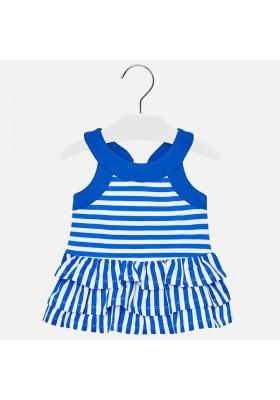 Vestido punto rayas  Mayoral bebe niña