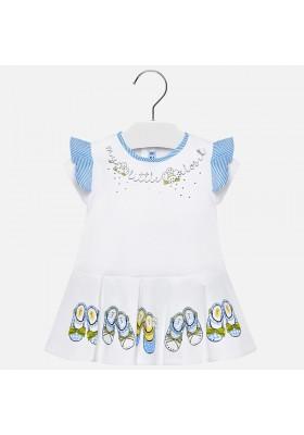 Vestido punto zapatos Mayoral bebe niña