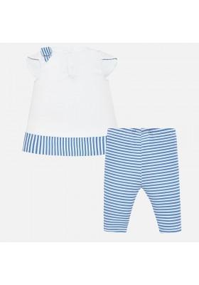 Conjunto leggings rayas Mayoral bebe niña