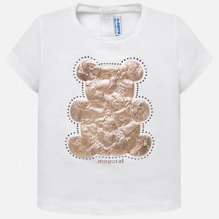 6e95f37eb35d1 Comprar Camiseta manga corta basica Mayoral bebe niña