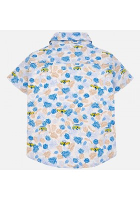 Camisa manga corta estampada Mayoral bebe niño
