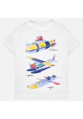 "Camiseta manga corta ""sporty"" Mayoral bebe niño"