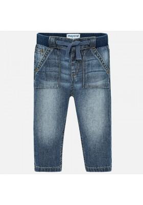 Pantalon tejano patente basic Mayoral bebe niño