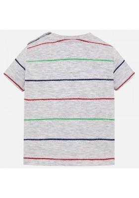 Camiseta manga corta rayas fantasia Mayoral bebe niño