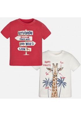 Camiseta manga corta MAYORAL bebe niño