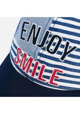 """Visera """"enjoy smile"""" Mayoral niño"""