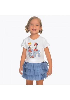 Vestido combinado tul Mayoral niña