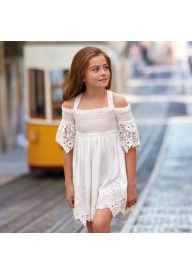 Vestido bordado Mayoral niña