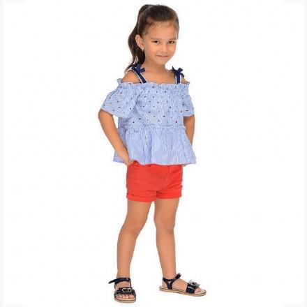 Short sarga basico Mayoral niña