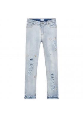 Pantalon largo tejano fantasi Mayoral niña modelo 6503