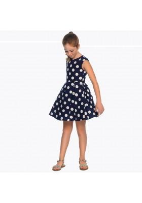 Vestido topos Mayoral niña modelo 6943