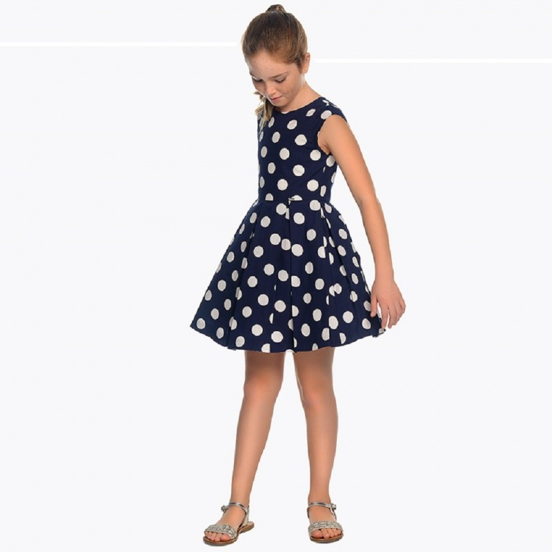 a3b0eef64 Compra Vestido topos Mayoral niña modelo 6943