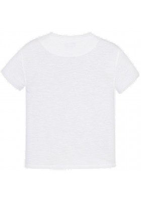 "Camiseta manga corta ""virtual"" Mayoral niño modelo 6040"