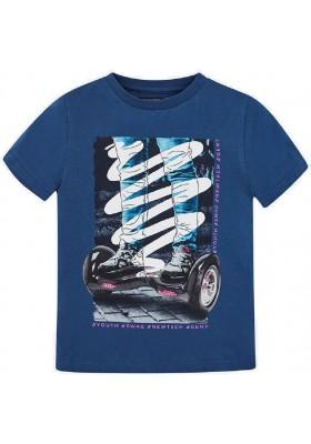 "Camiseta manga corta ""hoverboard"" Mayoral niño modelo 6039"