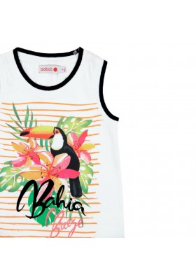 Camiseta punto de niña BOBOLI modelo 827388