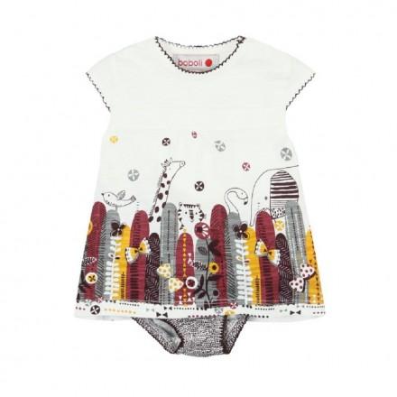 Vestido punto de bebé niña BOBOLI modelo 127134