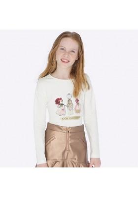 Camiseta manga larga frascos de Mayoral para niña modelo 7013
