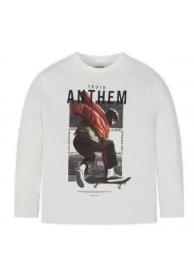 """Camiseta manga larga """"anthem"""" de Mayoral para niño modelo 7032"""