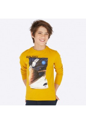 "Camiseta manga larga ""galaxy"" de Mayoral para niño modelo 7028"