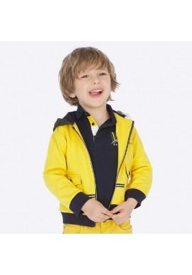 Canguro capucha contrastes de Mayoral para niño modelo 4452