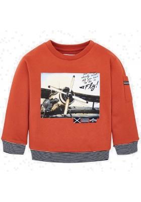 Pullover serigrafia avion de Mayoral para niño modelo 4426