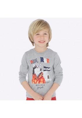 """Camiseta manga larga """"goals"""" de Mayoral para niño modelo 4035"""