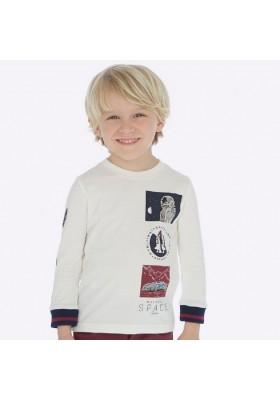 "Camiseta manga larga ""space"" de Mayoral para niño modelo 4030"
