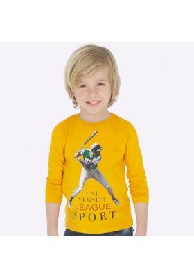 "Camiseta manga larga ""sport"" de Mayoral para niño modelo 4025"