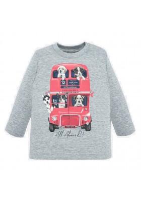 """Camiseta manga larga """"bus"""" de Mayoral para bebe niño modelo 2027"""