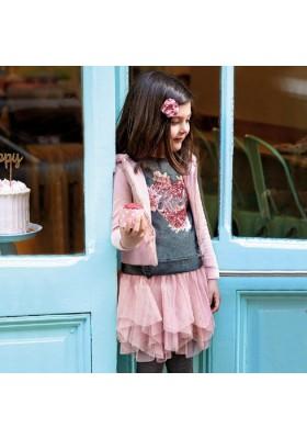 Conjunto falda tul de Mayoral para niña modelo 4951