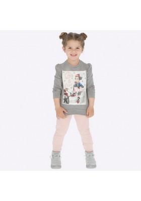Conjunto leggings 2 pantalones de Mayoral para niña modelo 4711