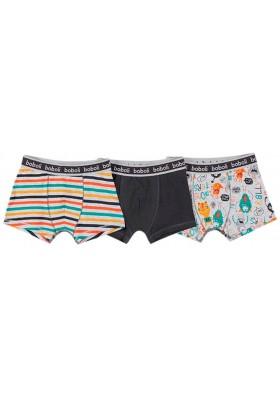Pack 3 boxers de niño BOBOLI modelo 938101