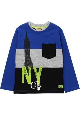 Camiseta punto de niño BOBOLI modelo 518004